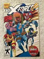 X-FORCE #8 Marvel 1992 1st App of Real Domino & Six Pack NM