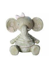 New Baby Girl Gift Elephant Money Box Piggy Bank Christening Baby Shower Present
