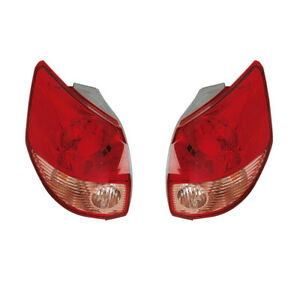 Tail Lights Rear Back Lamps Pair Set for 03-04 Toyota Matrix Left & Right