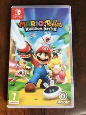 Nintendo Switch Juego Mario + Rabbids Reino batalla #FREEPOST #