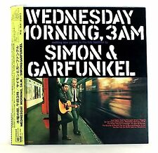 "SIMON & GARFUNKEL ""Wednesday Morning, 3AM"" NM/NM  Japan orig. 1st edition w/OBI"