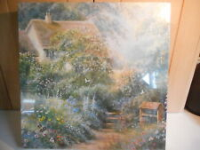 HERITAGE HILARY SCHOFFIELD WISHING WELL COTTAGE 1000 PIECE JIGSAW PUZZLE NEW