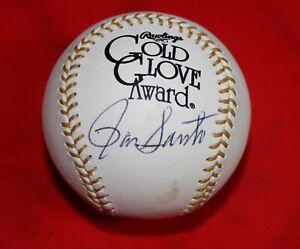 HTF Cubs Ron Santo Signed Gold Glove Baseball With PSA/DNA COA