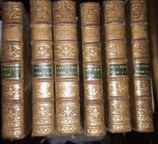 LE CLERC : Histoire physique, morale, civile et politique de la RUSSIE.1783-1794
