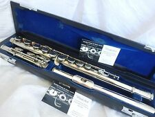 Muramatsu Flute Solid Silver head joint *Overhauled * Ready to Play (M120 = EX)