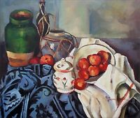 Quality Hand Painted Oil Painting Repro Paul Cezanne Still Life 20x24in