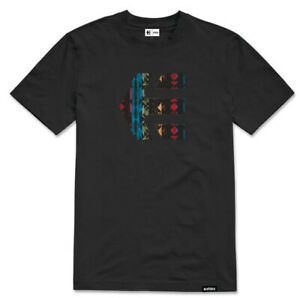 ETNIES 100% COTTON BLACK ICON TEE T-SHIRT TOP SIZE EXTRA LARGE BRAND NEW RRP $49