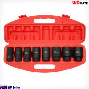 "9pc Dr 3/4"" Impact Deep Socket Set H78 Metric 22-41mm CRV Garage Mechanic WDMATE"