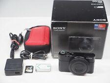 Sony Cyber-shot DSC-RX100 20.2 MP Digitalkamera - Schwarz in OVP