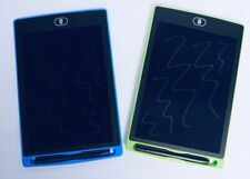 2 x Kids 8.5'' LCD Writing Drawing Tablets Board Memo Message Pads Lockable