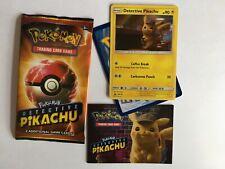 Pokemon SM190 Detective Pikachu Sealed PROMO Card Pack *NEW* CINEMA EXCLUSIVE
