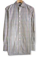 Robert Graham Men's Multicolor Striped Button Front Pocket Shirt India Sz Medium