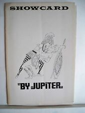 BY JUPITER Playbill BOB DISHY / SHEILA SULLIVAN / RODGERS & HART NYC 1967