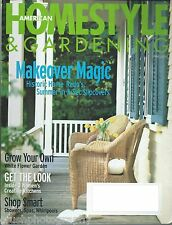 American HomeStyle & Gardening Magazine June 2000 Makeover Magic Shop Smart