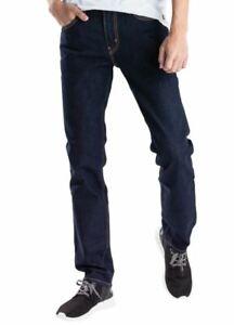 Genuine LEVIS Mens 511 Slim Fit Dark Indigo Blue Rinse Stretch Jeans LEVI