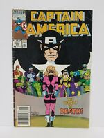 Captain America #380 - Marvel December 1990 - actual pictures - VG