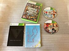 Grand Theft Auto 5 V GTA V For Microsoft Xbox 360 Game PAL Complete VGC