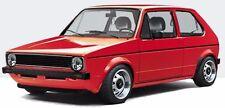 2 Schwellerzierleisten SCHWARZ, VW Golf 1 / Cabrio, Jetta 1, Scirocco 1, NEU