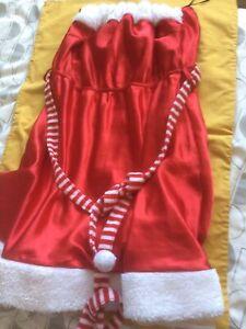 Mrs Santa Claus Christmas Fancy Dress Xmas Ladies SIZE 14 Secret Possessions