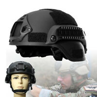 Outdoor Tactical Helmet Army Airsoft Military Tactical Combat Riding Hunting Acc