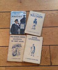 Vintage Ladybird Books Lot Of 4 The Policeman Red Riding Hood Goldilocks