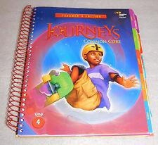 Journeys Common Core Grade 6 Houghton Mifflin Harcourt Teacher's Edition Unit 4
