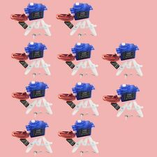 NEW 10X rc Servo 9g mini micro for trex 450 Rc helicopter Airplane Foamy Plane S