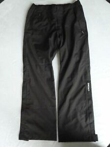 Cross Mens Cloud  Waterproof Golf Trousers Black XL/31