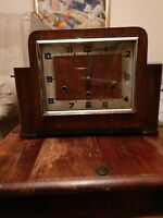 Norland Mantle Clock 1935 -1940 8 hammers ,3  chimies very Rare !