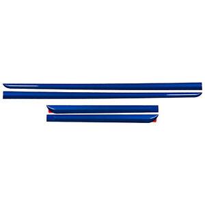 OEM 2017-2020 Subaru WRX STI Body Side Molding WR Blue Pearl NEW J101SFJ001E4