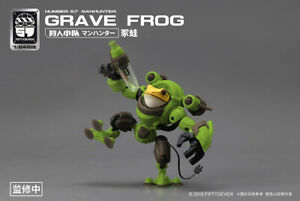 1/24 scale Fiftyseven Numebr 57 manhunter Grave Frog,in stock