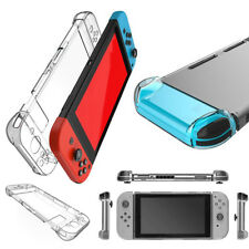 Clear Crystal Case Hard Cover Bumper Shock Scratch Guard For Nintendo Switch NS