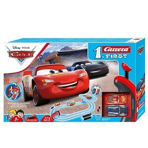 Carrera Disney Pixar Cars Piston Cup First Slot Car Set