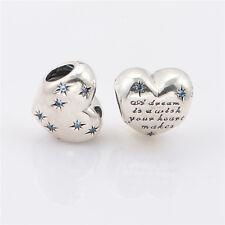 New Genuine Silver Pandora Disney's A Dream is a Wish Charm 791593CFL - RRP $70