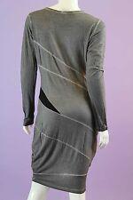 Long Sleeved Gray Dress Size S, M, L