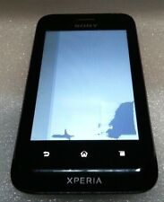 Sony Ericsson Xperia Tipo ST21a schwarz Power Up Bad LCD Clean IMEI lesen unten