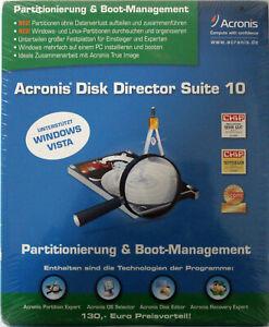 Acronis Disk Director Suite 10 - Deutsch - NEUWARE