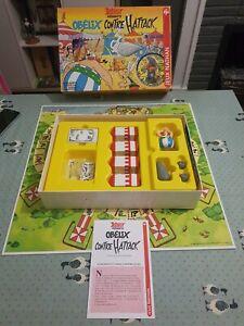 Asterix Presente Obelix Contre Hattack Board Game (Jeux Nathan, 1996)