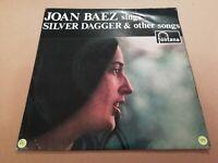 "JOAN BAEZ SINGS SILVER DAGGER ~ 7"" EP FONTANA P/S EXCELLENT 1960"