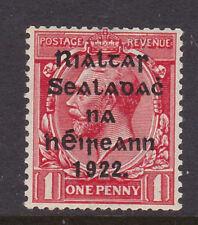 IRELAND, Scott #20: 1d, MNH, 1922 Harrison Coil Overprint in Black