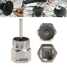 Bicycle Free Wheel Remover Steel Repairing Tool Bike MTB Cycling Crank Bracket
