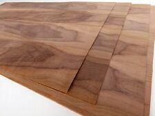 12x am. NUSSBAUM FURNIER PLATTEN Edelholz Dekor Design Möbel Tisch Tür Anrichte