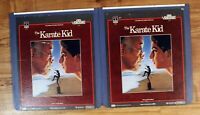 CED VideoDisc: The Karate Kid: complete 1 2