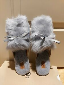 New UGG AUSTRALIA womens Shaine Fluff Slippers