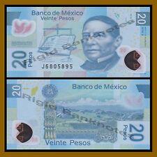 Mexico 20 Pesos, 2013 P-122 Series-X Polymer Unc