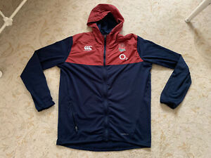England Rugby Player Issue Training Hoody Hoodie Size Medium