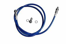 """BLUE 54"""" for Honda civic 92-00/ Acura 94-01 Braided Stainless Steel Clutch Line"""