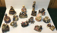Boyds Bears Figurines LOT Of 17 !!! FREE SHIPPING
