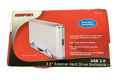 3.5 in USB 2.0 High Speed External Hard Drive Disk Case Enclosure Box PC & Mac