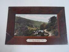 Rare Vintage PC The Lodge Hardcastle Cragg's Hebden Bridge Franked 1913   §A38